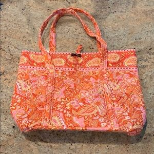 Vera Bradley Medium Tote Pink Sherbet Perfect!